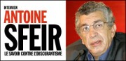 INTERVIEW D'ANTOINE SFEIR