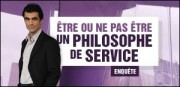 TRE OU NE PAS TRE UN PHILOSOPHE DE SERVICE