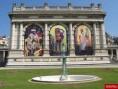 Arrière du musée dans le parc - Musée Galliera de la Mode de Paris
