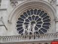 La rosace - Cathédrale Notre-Dame de Paris