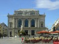 Opéra de Montpellier. Facade de l'opéra - Opéra Orchestre national de Montpellier Languedoc-Roussillon