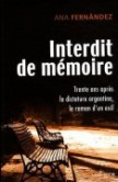 Interdit de mémoire